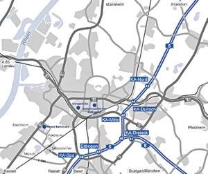 Auto Karte Anfahrt Messe