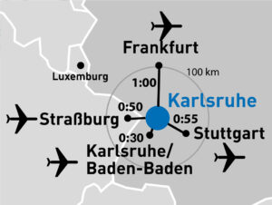 Messe Karlsruhe Flughafen